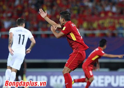 U20 Việt Nam không được hưởng Penalty. Ảnh: Ngọc Anh