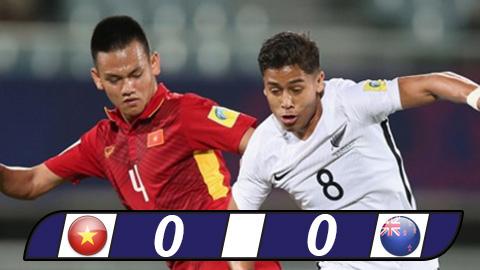 Việt Nam đi vào lịch sử U20 World Cup sau trận hòa trên cơ New Zealand
