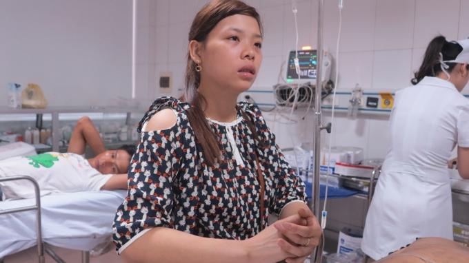 Chị Cao Thanh Trúc nhớ lại giây phút nhận được tin chồng gặp nạn.