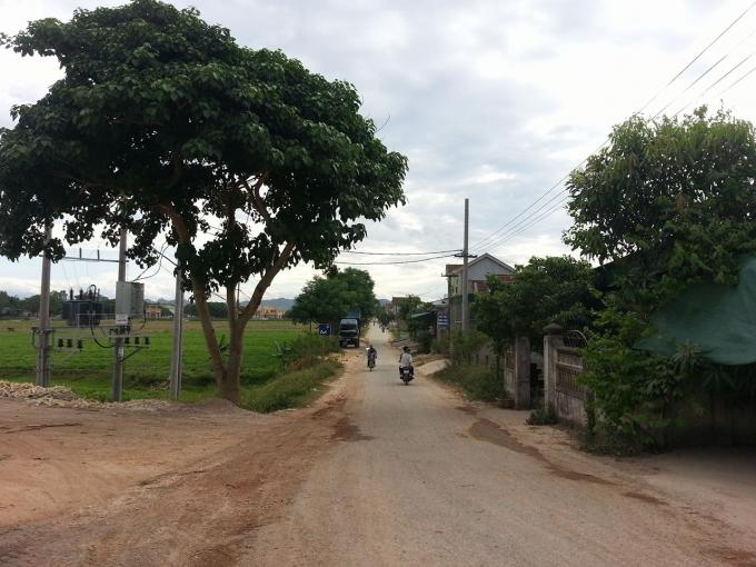 Xã Nam Cường nơi ông Bình từng giữ chức quan to nhất để có thể lợi dụng chức vụ cấp khống 18 lô đất cho dân, để nhận tiền trái phép.