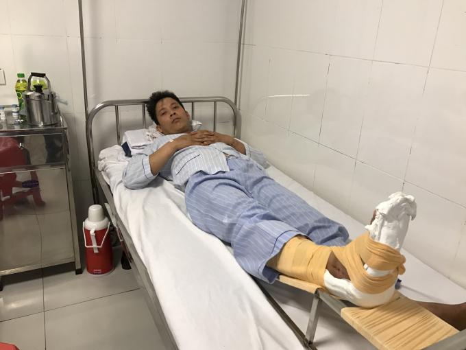 Anh Nguyễn Văn Duẫn, một trong hai nạn nhân kể lại sự việc.