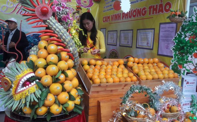 Hội chợ cam Vinh lần đầu tiên được Nghệ An tổ chức nhằm quảng bá, khẳng định thương hiệu