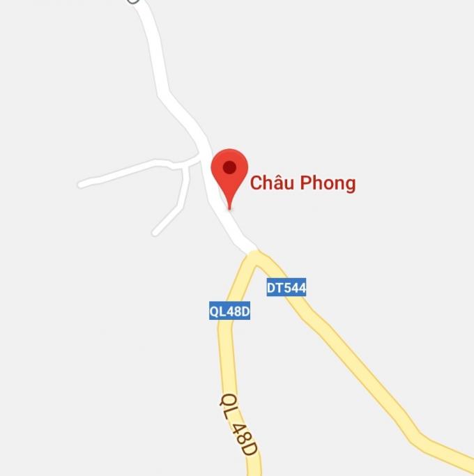 Xã Châu Phong nơi xảy ra sự việc.