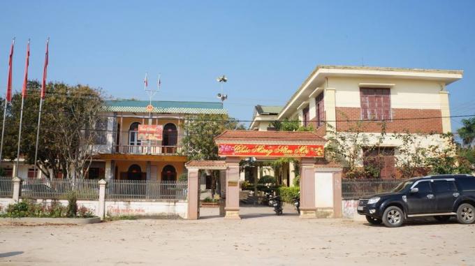 UBND, Đảng ủy xã Phúc Thành nơi ông Lương làm việc.