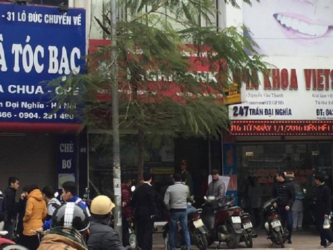 Ngân hàngAgribank nơi xảy ra sự việc.