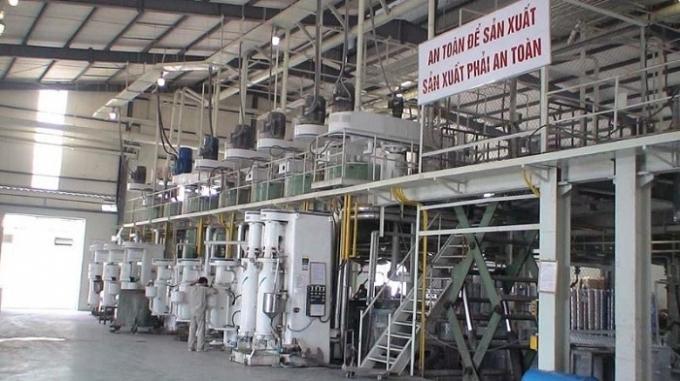 Khu sản xuất của Công ty CPSơn Hải Phòng.