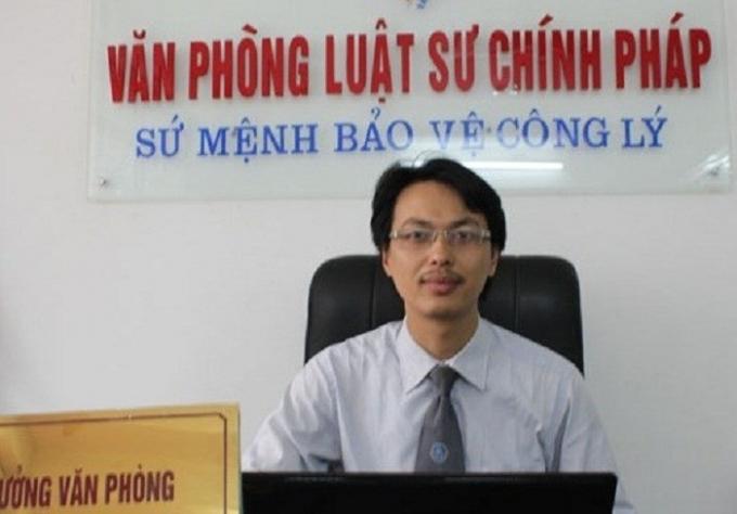 Luật sư Đặng Vă Cường.