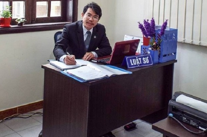Luật sư Huỳnh Mỹ Long.
