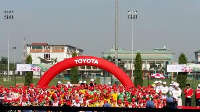 Vòng sơ tuyển trại hè bóng đá thiếu niên Toyota 2016 đã được khai mạc.