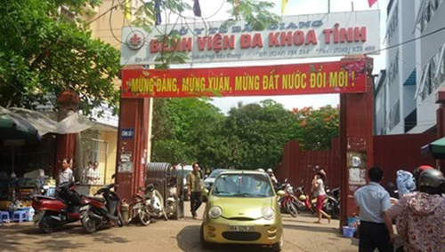 Bệnh viện Đa Khoa Bắc Giang.