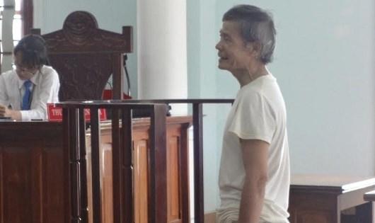 Bị cáo Cao Sáu Nhỏ tại tòa.
