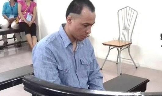 Bị cáo Phạm Quang Huy.