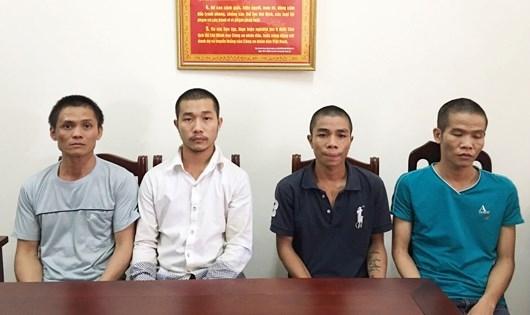 Bốn đối tượng trốn nã trong các tỉnh miền Nam và Tây Nguyên được di lí về Nghệ An.