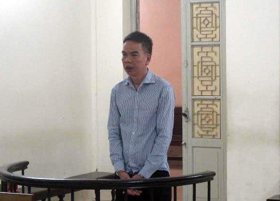Bị cáo Lưu Quốc Chiến. (Ảnh: VNN)