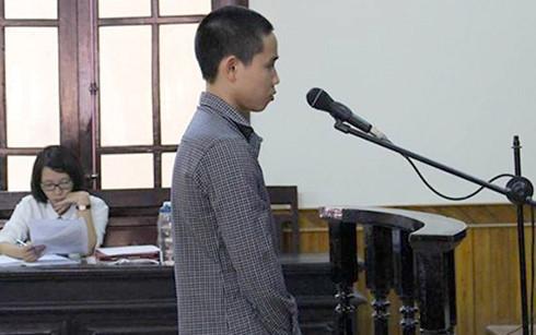 Bị cáo Nguyễn Vũ Mâu.