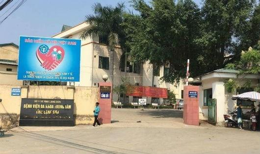 Bệnh viện Đa khoa Trung tâm tỉnh Lạng Sơn, nơi để xảy ra nhiều sai phạm.
