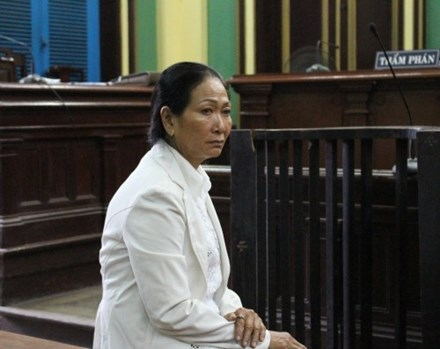 Bà Nguyễn Thị Chưa. (Ảnh: báo Người lao động)