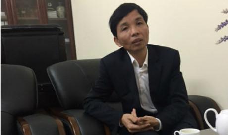 Ông Nguyễn Trọng Điều, Phó Chánh Thanh tra tỉnh Hải Dương trao đổi với phóng viên.