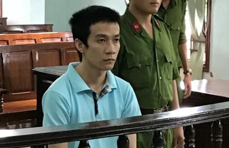 Bị cáo Nguyễn Thanh Giang tại tòa ngày 31/3. (Ảnh: báo Pháp luật TPHCM)