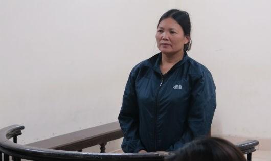 Bị cáo Đỗ Thị Xuân.