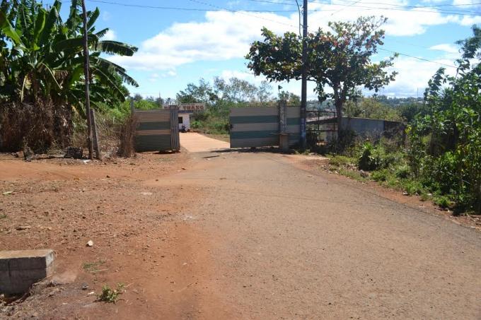 Thực trạng đường Châu Văn Liêm, phường Ia Kring, TP Pleiku bị lấn chiếm qua rất nhiều năm.