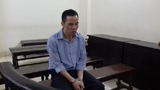 Bị cáo Lê Đại Quân tại phiên tòa xét xử.