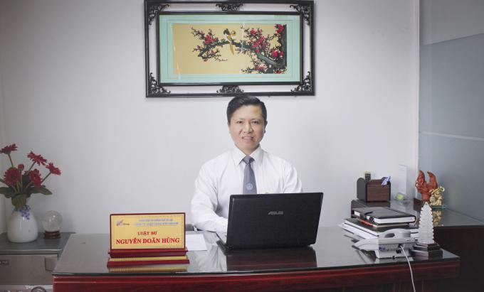 Luật sư Nguyễn Doãn Hùng.