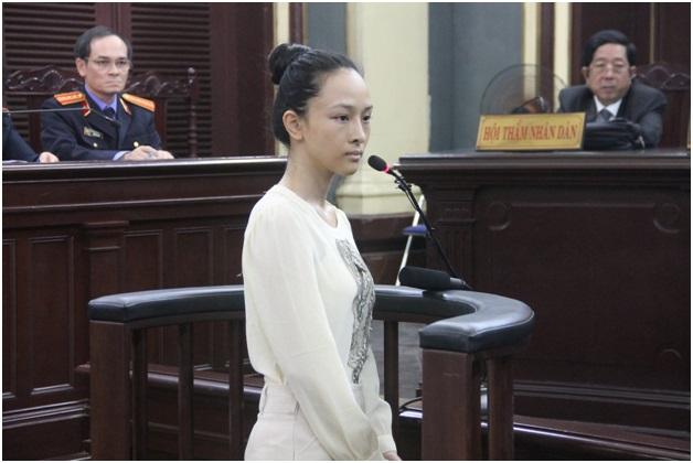Bị cáo Trương Hồ Phương Nga.