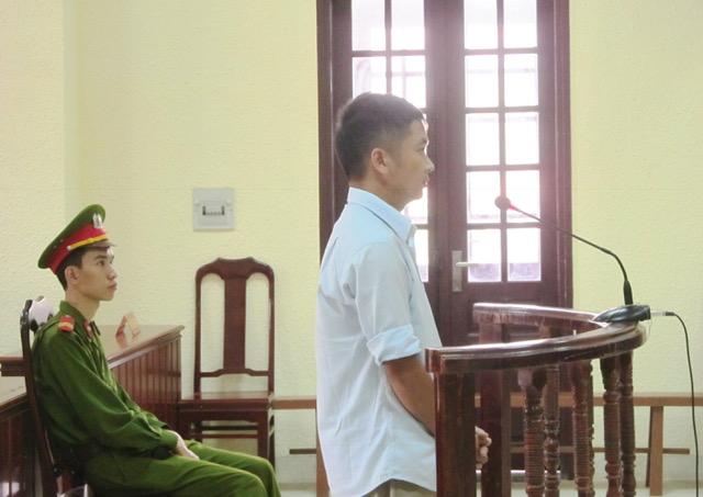 Bị cáo Nguyễn Quang Vũ.