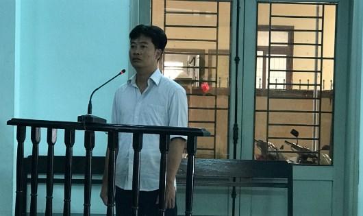 Bị cáo Nguyễn Hoàng Tuấn.