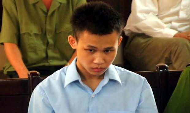 Bị cáo Vi Đăng Văn tại phiên tòa sơ thẩm.