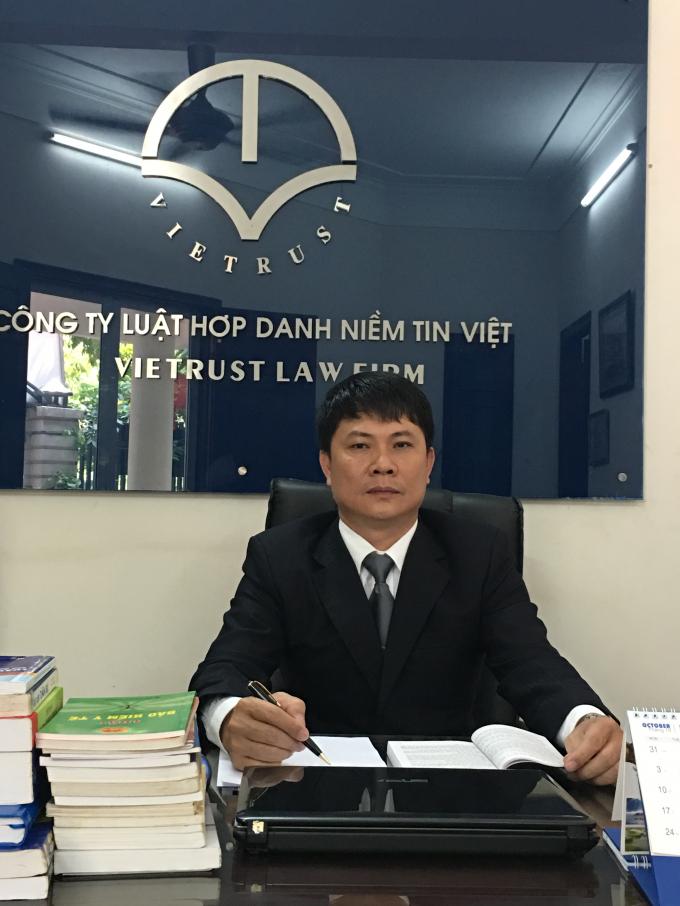 Luật sư Lê Trung Sơn.