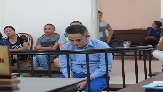 Bị cáo Trường tại phiên tòa xét xử.