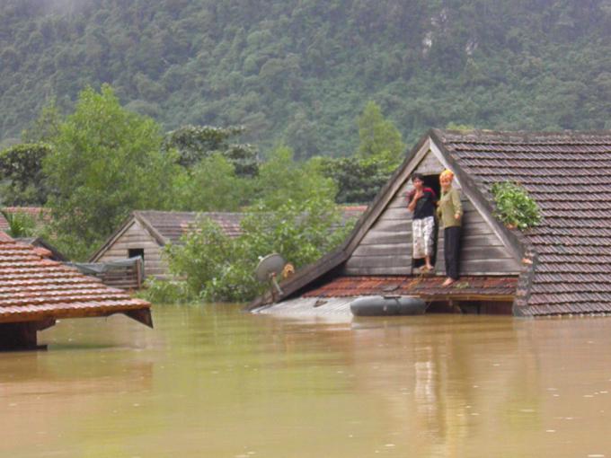 Biến đổi khí hậu khiến ngập lụt ngày càng nghiêm trọng. Ảnh: Zing.vn