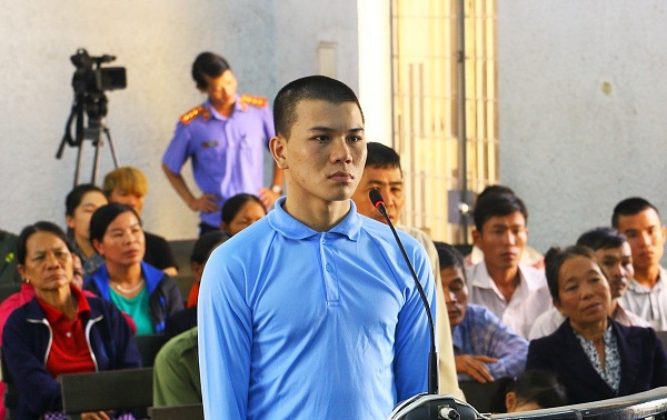 Bị cáo Lương Xuân Trang tại phiên xét xử.