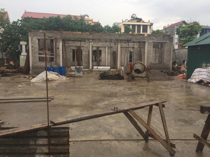 Diện tích đất ao của cụ Nghị trước đây được cho là đã công hữu vào Hợp tác xã Văn Trì.