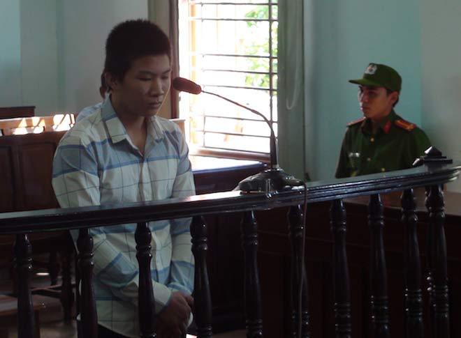 Bị cáo Lê Văn Dương tại tòa.
