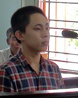 Lê Huy bị tòa tuyên phạt 12 năm tù. (Ảnh: báo VNExpress)