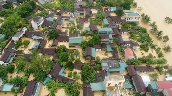 Trận lũ lịch sử vừa qua đã nhấn chìm hàng nghìn ngôi nhà ở Thanh Hóa.