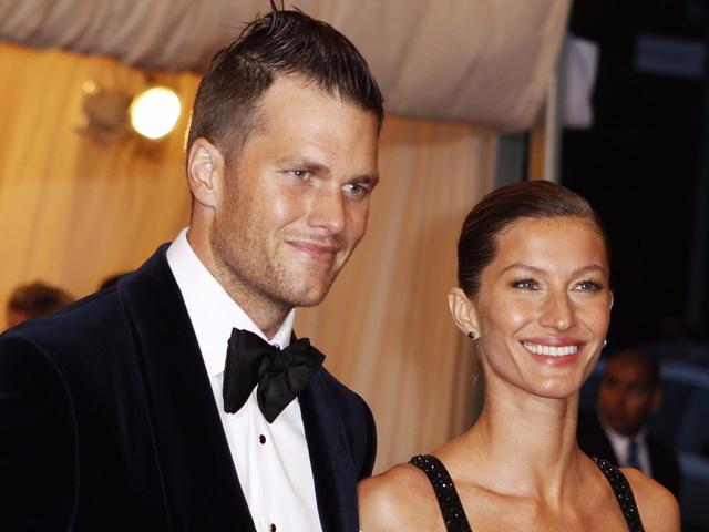Cầu thủ bóng bầu dục Tom Brady và siêu mẫu Gisele Bündchen.