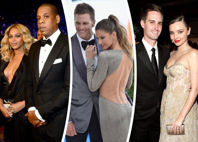 """6 cặp đôi """"đáng ghen tị"""" nhất thế giới"""