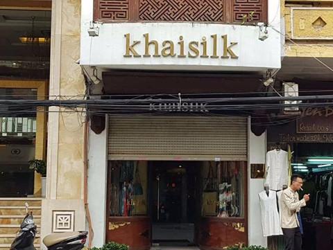 Một cửa hàng của Khaisilk.