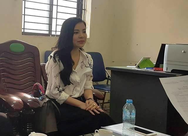 Bà Nguyễn Thu Trang đã đến cơ quan chức năng làm việc.