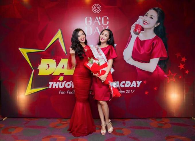 MC Ốc Thanh Vân trở thành đại sứ thương hiệu cho Gacday - Giải pháp trị nám, phòng tránh ung thư, sản phẩm của Công ty CP Nafoods Group và Tập đoàn T's Group.