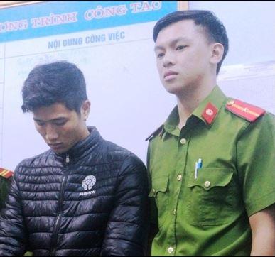 Đối tượng Lê Minh Hải bị Công an TP Đồng Hới (Quảng Bình) bắt tạm giam, ngày 25/10. (Ảnh: báo Nhâ dân)