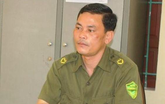 Ông Nguyễn Ngọc Thấu - Trưởng Công an xã Nghi Quang.