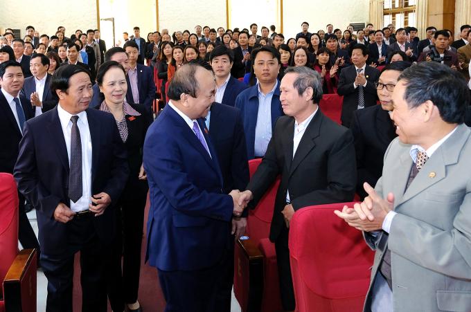 Thủ tướng Nguyễn Xuân Phúc nêu rõ, Hải Phòng đã đạt được kết quả tốt trong năm 2017.