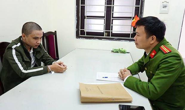 Nguyễn Đức Huy tại CQĐT.