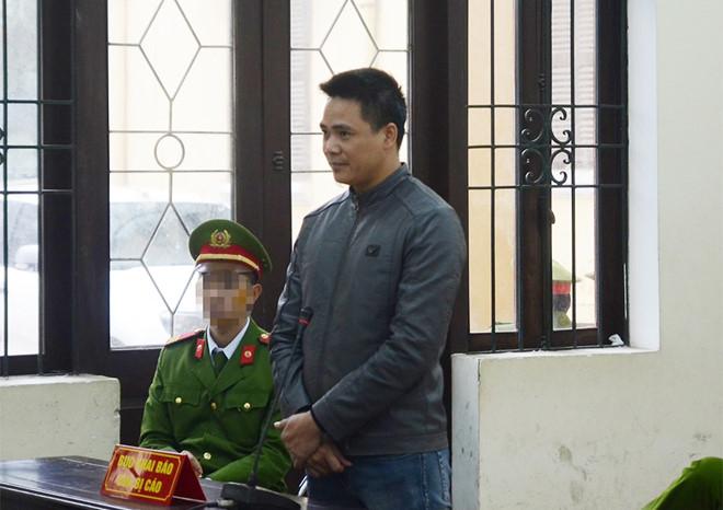 Bị cáo Nguyễn Trọng Phương tại tòa. (Ảnh: Zing.vn)