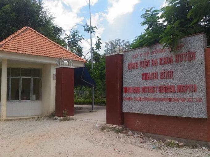 BV đa khoa huyện Thanh Bình. (Ảnh: báo Pháp luật TP HCM)